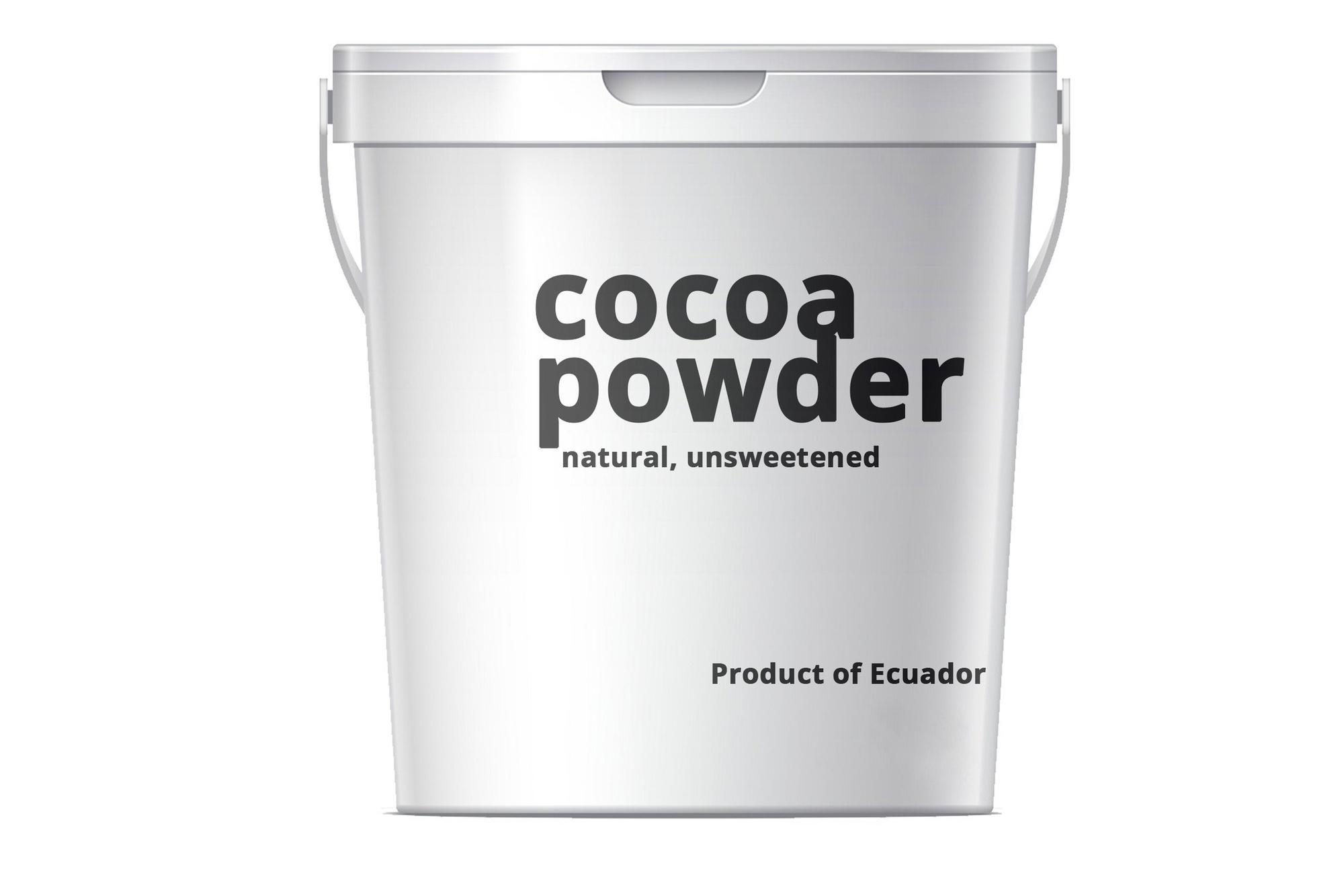 Cocoa Cacao Powder Kakaopulver Natural 10/12% 5kg Arriba Ecuador